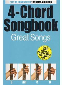 4-Chord Songbook: Great Hits Livre | Paroles et Accords