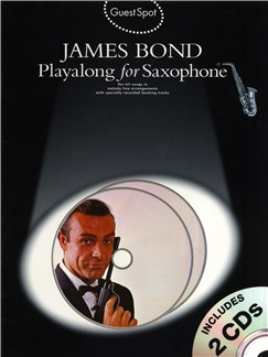 Guest Spot: James Bond Playalong For Saxophone Books and CDs | Alto Saxophone