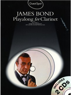 Guest Spot: James Bond Playalong For Clarinet Books and CDs | Clarinet