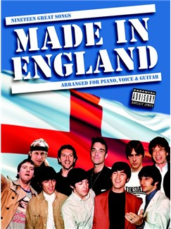 Made In England Books | Piano, Vocal & Guitar
