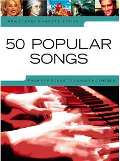Really Easy Piano: 50 Popular Songs Livre | Piano