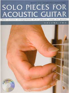 Solo Pieces for Acoustic Guitar - Volume Two (Book & CD) Books and CDs | Classical, Acoustic Guitar