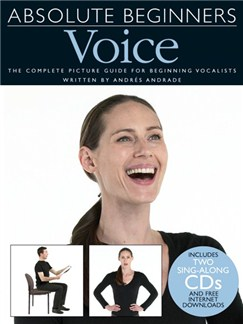 Absolute Beginners: Voice (Book And 2 CDs) Books and CDs | Piano, Vocal & Guitar