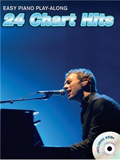 Easy Piano Play-Along: 24 Chart Hits (Book And 3 CDs) Books and CDs | Piano, Vocal & Guitar