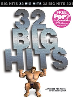 32 Big Hits Arranged For Piano, Voice And Guitar (Book And Pop The Question DVD) Books and DVDs / Videos | Piano, Vocal & Guitar