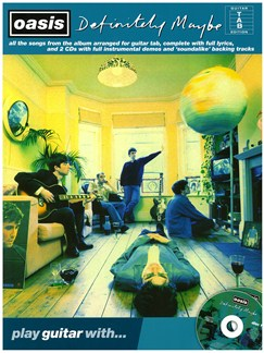 Play Guitar With... Oasis: Definitely Maybe Books and CDs | Guitar Tab