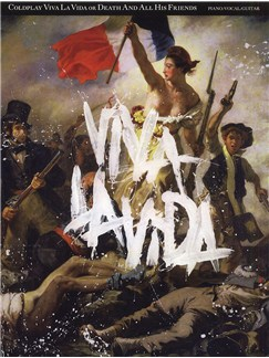 Coldplay: Viva La Vida or Death And All His Friends (PVG) Books | Piano, Vocal & Guitar