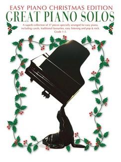 Great Piano Solos - Christmas Edition (Easy Piano Edition) Books   Piano