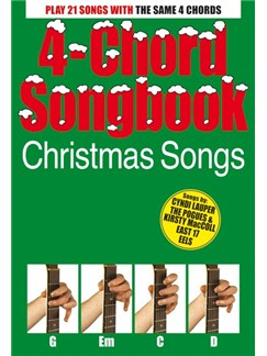 4-Chord Songbook: Christmas Songs Books | Lyrics & Chords