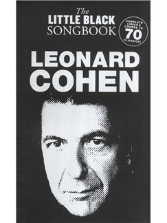 The Little Black Songbook: Leonard Cohen Livre | Paroles et Accords