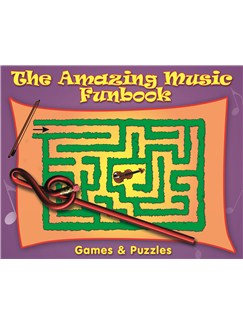 The Amazing Music Funbook plus Novelty Pencil Books |