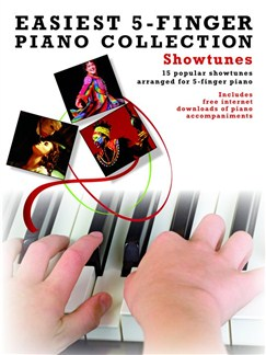 Easiest 5-Finger Piano Collection: Showtunes Books and Digital Audio | Piano