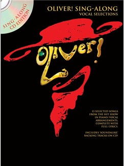 Oliver! Sing-Along Vocal Selections (Book And CD) Books and CDs | Voice, Piano Accompaniment