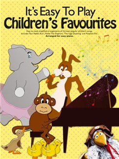 It's Easy To Play Children's Favourites Books | Piano Accompaniment, Lyrics & Chords