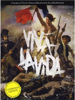Coldplay: Viva La Vida or Death And All His Friends (Combined Edition) Books | Guitar Tab, Piano, Vocal & Guitar
