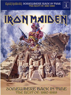 Iron Maiden: Somewhere Back In Time - The Best Of 1980-1989 (TAB) Books | Guitar Tab