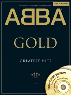ABBA: Gold - Greatest Hits Singalong PVG (Book and 2 CDs) Books and CDs | Piano, Vocal & Guitar