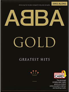ABBA: Gold - Greatest Hits Singalong PVG (Book/Audio Download) Buch und Digitale Audio | Klavier, Gesang & Gitarre