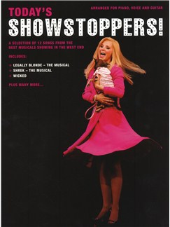 Today's Showstoppers Books | Piano, Vocal & Guitar (with Chord Boxes)