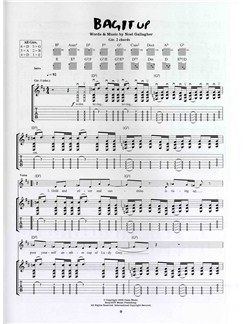 Oasis: Dig Out Your Soul (TAB) Books | Guitar Tab