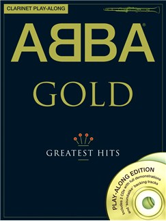 ABBA: Gold - Clarinet Play-Along Books and CDs | Clarinet