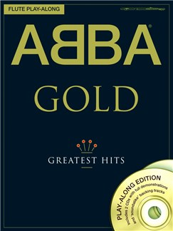 ABBA: Gold - Flute Play-Along Books and CDs | Flute