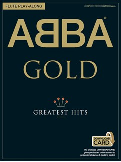 ABBA: Gold - Flute Play-Along (Book/Audio Download) Books and Digital Audio | Flute