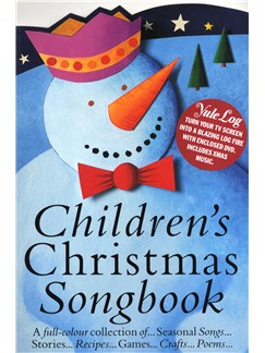Children's Christmas Songbook In Colour + Yule Log DVD Books and DVDs / Videos | Voice, Piano