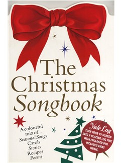 The Christmas Colour Songbook + Yule Log DVD Books and DVDs / Videos | Voice and Piano