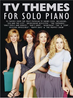 TV Themes For Solo Piano Books | Piano