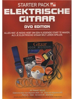 In A Box Starter Pack: Electric Guitar (Dutch Edition) Books, CDs and DVDs / Videos | Guitar