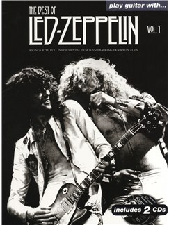 Play Guitar With... The Best Of Led Zeppelin: Volume 1 Books and CDs | Guitar Tab