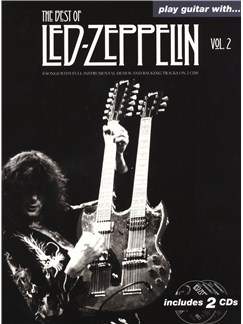 Play Guitar With... The Best Of Led Zeppelin - Volume 2 CD et Livre | Tablature Guitare