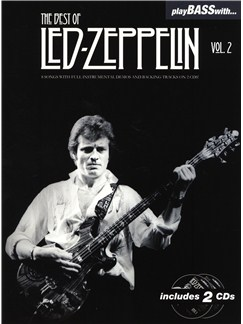 Play Bass With... The Best Of Led Zeppelin - Volume 2 Books and CDs | Bass Guitar, Bass Guitar Tab