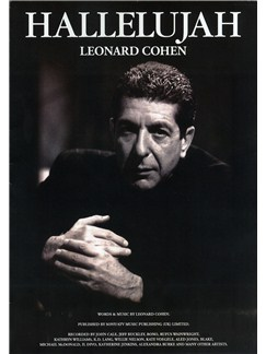 Leonard Cohen: Hallelujah (Single Sheet) Livre | Piano, Chant et Guitare