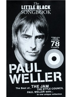 The Little Black Songbook: Paul Weller Livre | Paroles et Accords