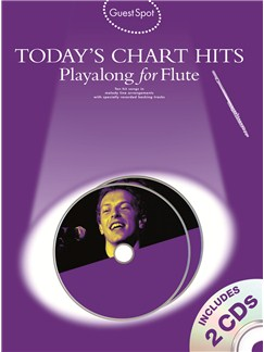 Guest Spot: Today's Chart Hits - Playalong for Flute Books and CDs | Flute