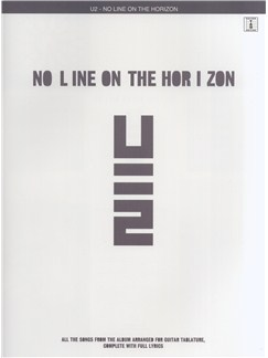 U2: No Line On The Horizon (TAB) Books | Guitar Tab