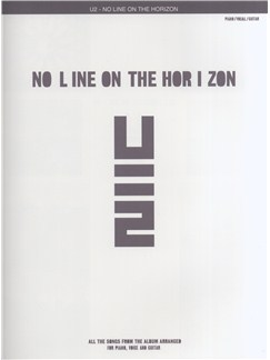 U2: No Line On The Horizon (PVG) Books | Piano, Vocal & Guitar
