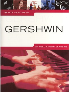 Really Easy Piano: Gershwin Books | Piano, Easy Piano