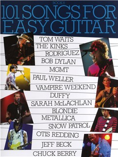 101 Songs For Easy Guitar - Book 8 Livre | Ligne De Mélodie, Paroles et Accords