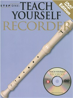 Step One: Teach Yourself Recorder - DVD Edition Books, CDs and DVDs / Videos | Soprano (Descant) Recorder