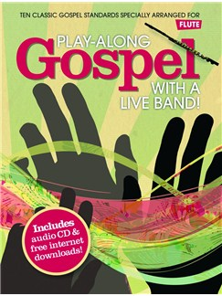 Play-Along Gospel With A Live Band! - Flute Books and CDs | Flute