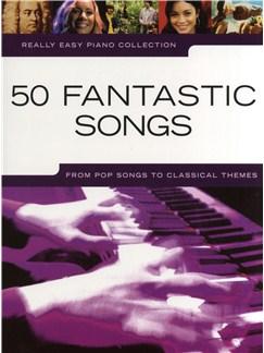 Really Easy Piano: 50 Fantastic Songs Livre | Piano