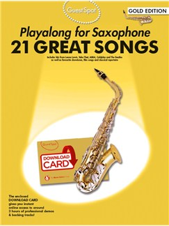 Guest Spot: Playalong For Alto Saxophone - Gold Edition (Book/Audio Download) Books and Digital Audio | Alto Saxophone