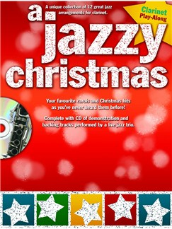 A Jazzy Christmas - Clarinet Books and CDs | Clarinet