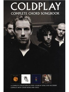 Coldplay: Complete Chord Songbook - Revised Edition Books | Lyrics & Chords