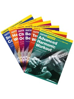 The Ultimate Guitar Sourcebook Pack: Guitar Techniques Explained (6 Complete Books) Books | Guitar