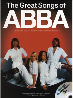 The Great Songs Of Abba (Book/CD) Books and CDs | Piano, Vocal & Guitar