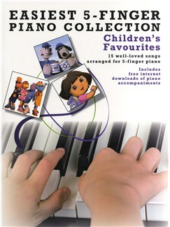 Easiest 5-Finger Piano Collection: Children's Favourites Books | Piano